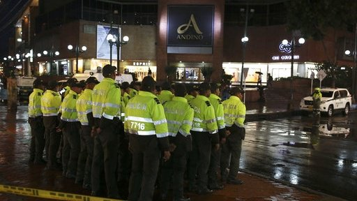 Colombian authorities arrest 8 for alleged ties to mall bomb