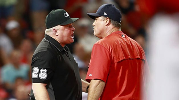 Sox Manager Farrell Ejected In SeventhInning