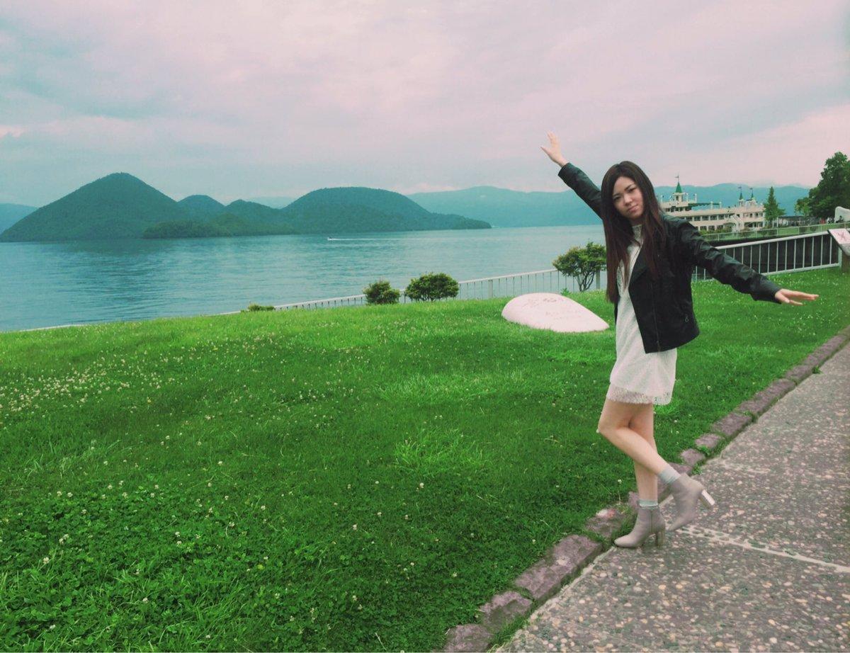 2年ぶりの洞爺湖!!大好きな場所。雨も止んできてよかった!!!#TMAF #sorameso