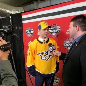 Nashville Predators take UND forward Grant Mismash in second round of NHL Draft