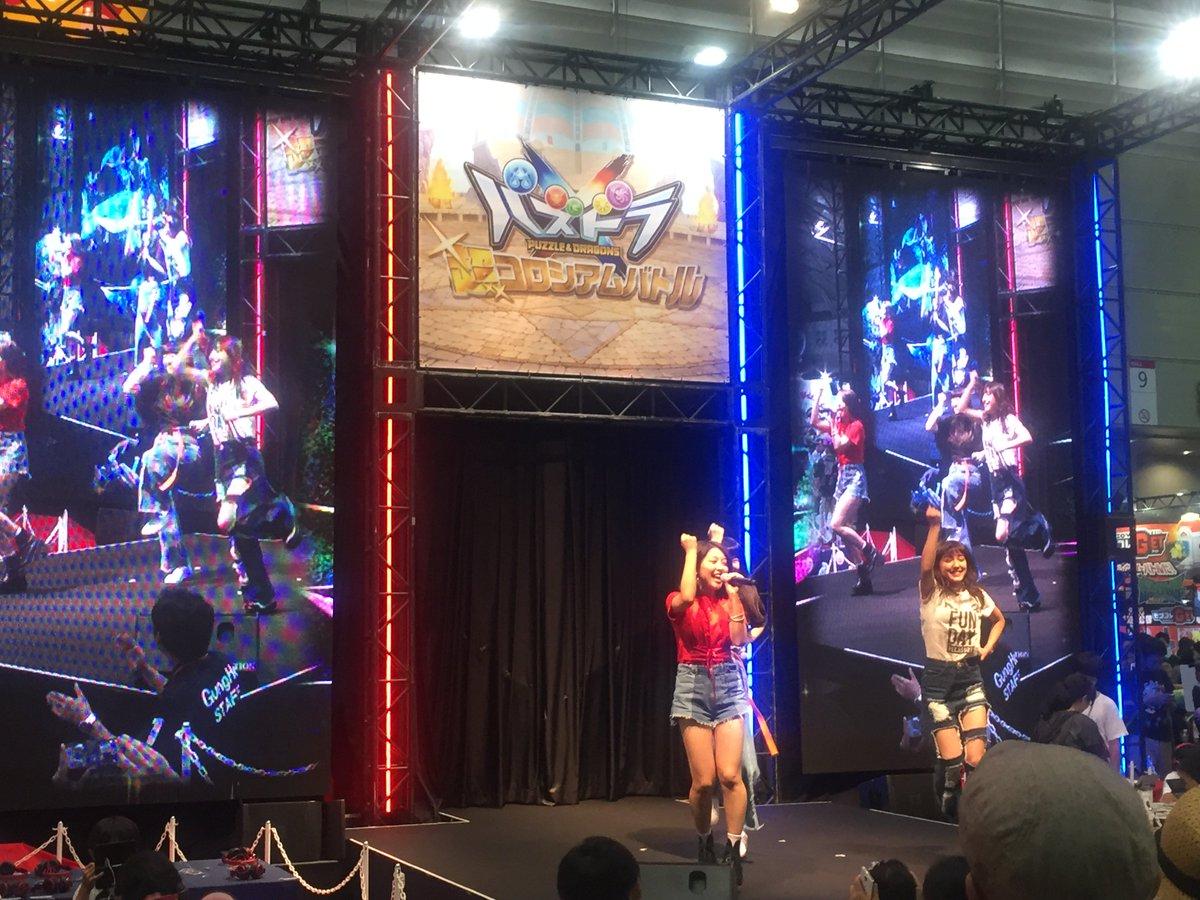 アニメ クロスオンステージのスペシャルゲスト、J☆DeeZの皆さんがアニメ新エンディングテーマ『カラフルジャンプ』を披露