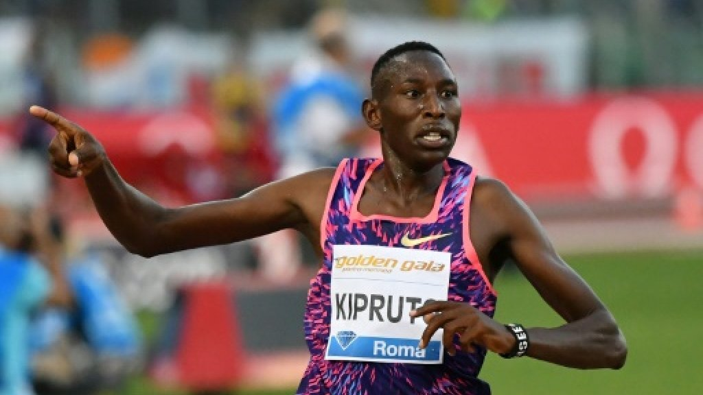 Kenya's Kipruto ready to step up steeplechase ladder