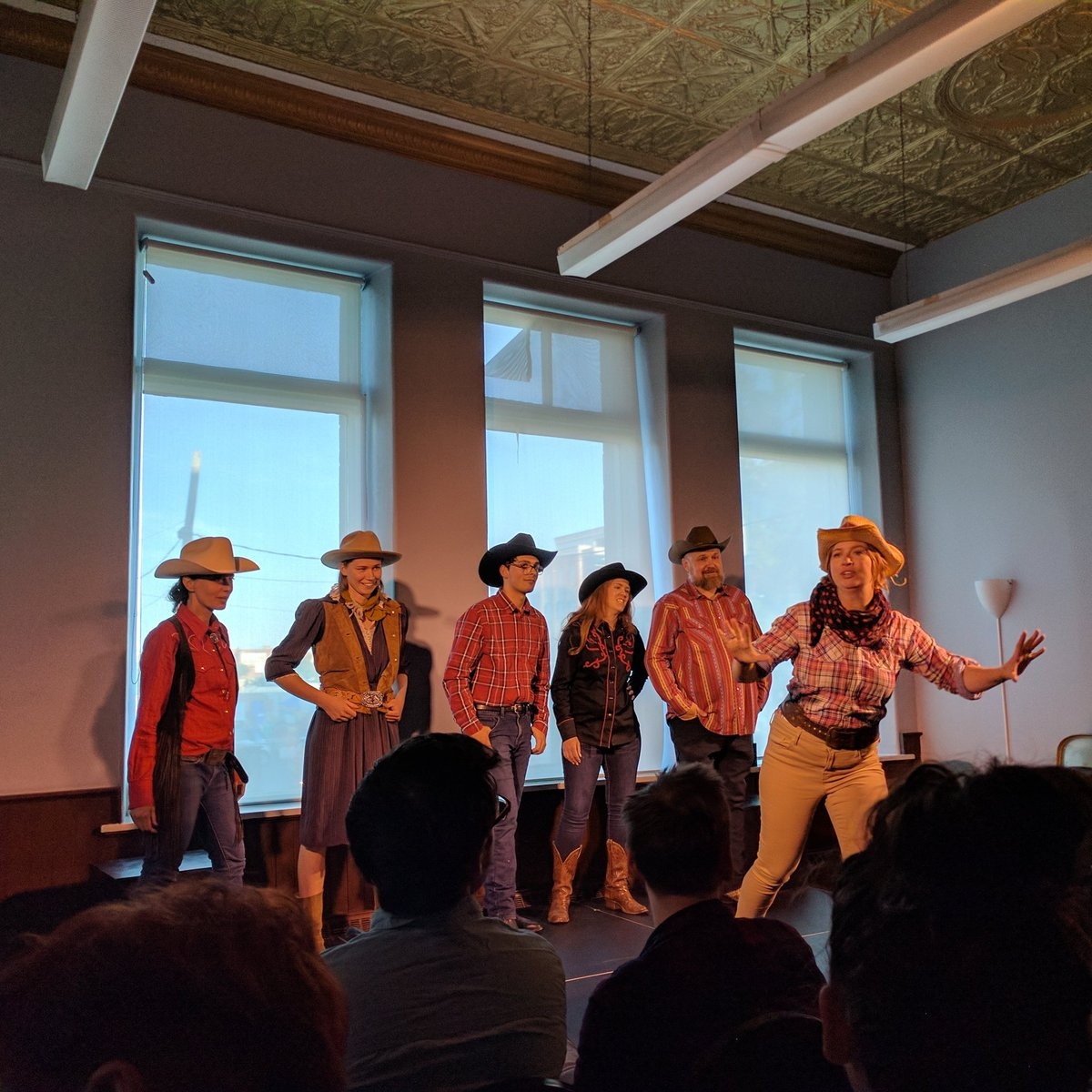 "test Twitter Media - The Good, The Bad and The Improv at @kinkonauts in Inglewood 🤠 presenting ""The Guarded, The Gracious and The Spindly"" #yyc #yycimprov https://t.co/bd7HhHA6By"