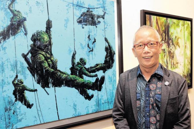 Commemorating 50 years of National Service through art
