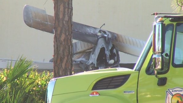1 killed after plane plunges into day care