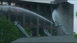 Rochester among departments responding to Sanford mill fire