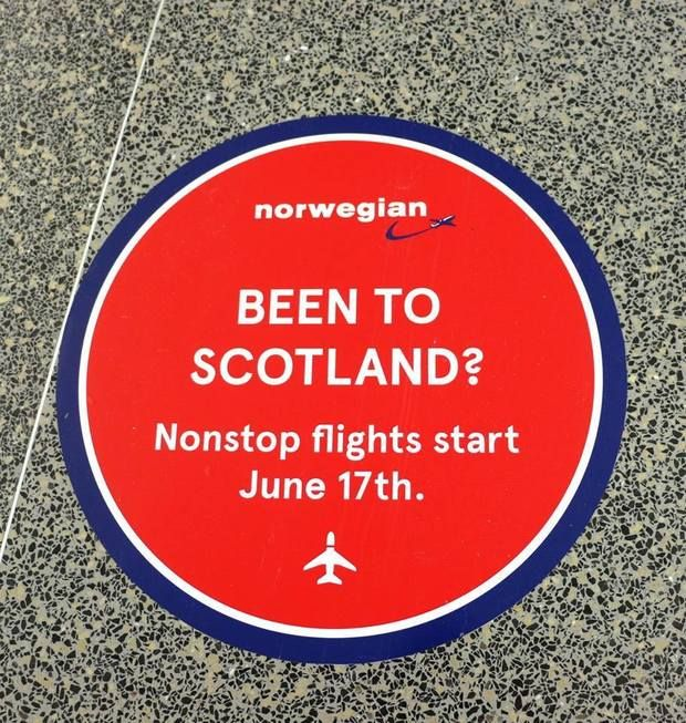 Bradley adds Norwegian Air flights to Scotland with fares starting at $65