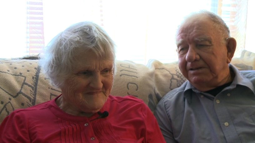 Couple shares secret for their 71 years of marriage