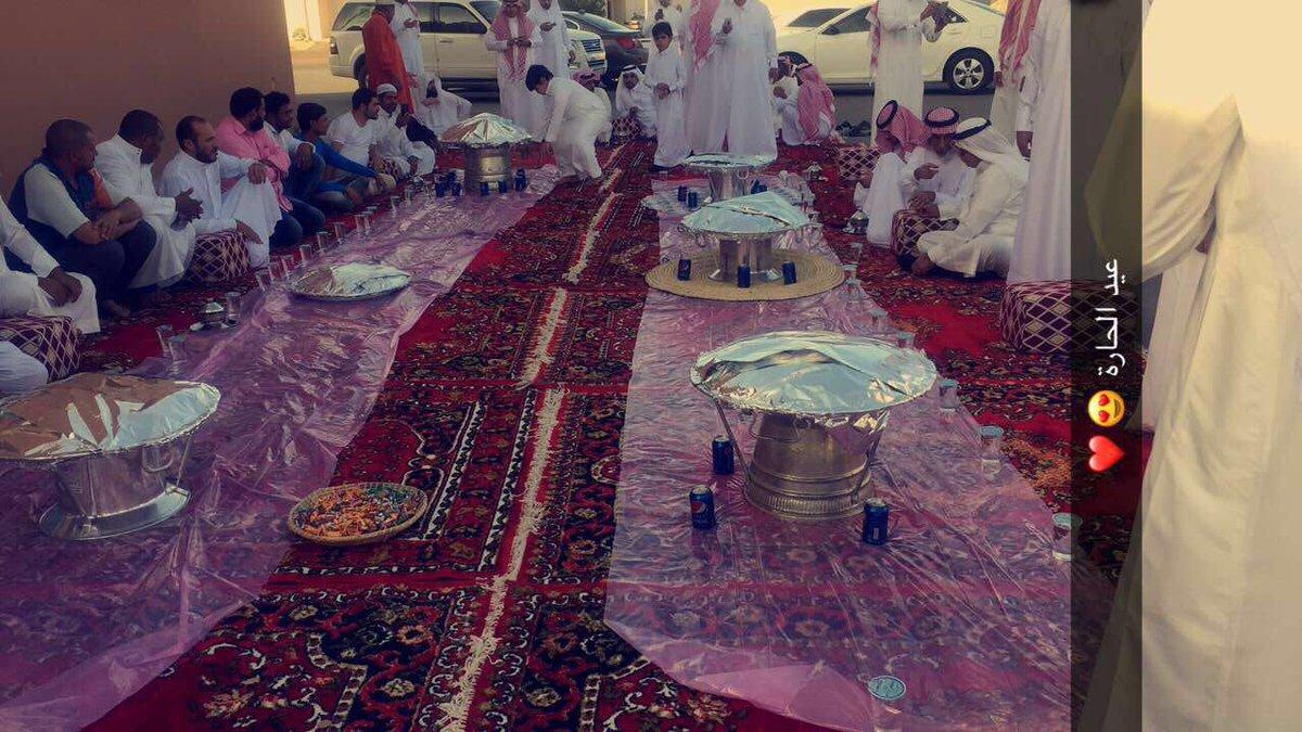 RT @al_rakkad: من عادات وتقاليد اهل حائل .. كل واحد يطلع بعيد في الحارة، نجتمع ونعايد بعض  #عيد_اهل_حايل_1438 https://t.co/m93fYKLPHO