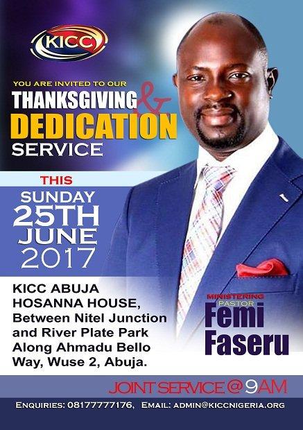 test Twitter Media - RT @TayoOlowola: Join us @KICCAbuja today.  @PstFemiFaseru is in the house https://t.co/1oblUvuoLj