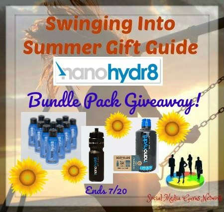 Nanohydr8 Bundle Pack Giveaway!