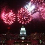 Rain doesn't dampen spirits, fireworks at Shake the Lake fest