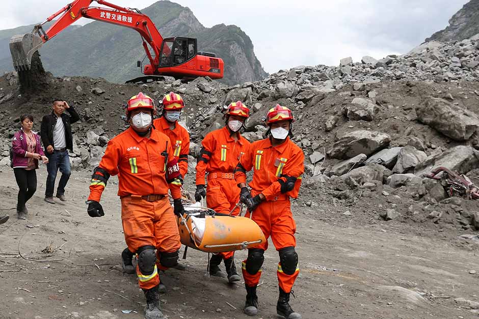 9 bodies found after deadly China landslide