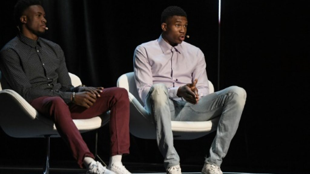 Antetokounmpo brothers - from migrants to basketball ambassadors
