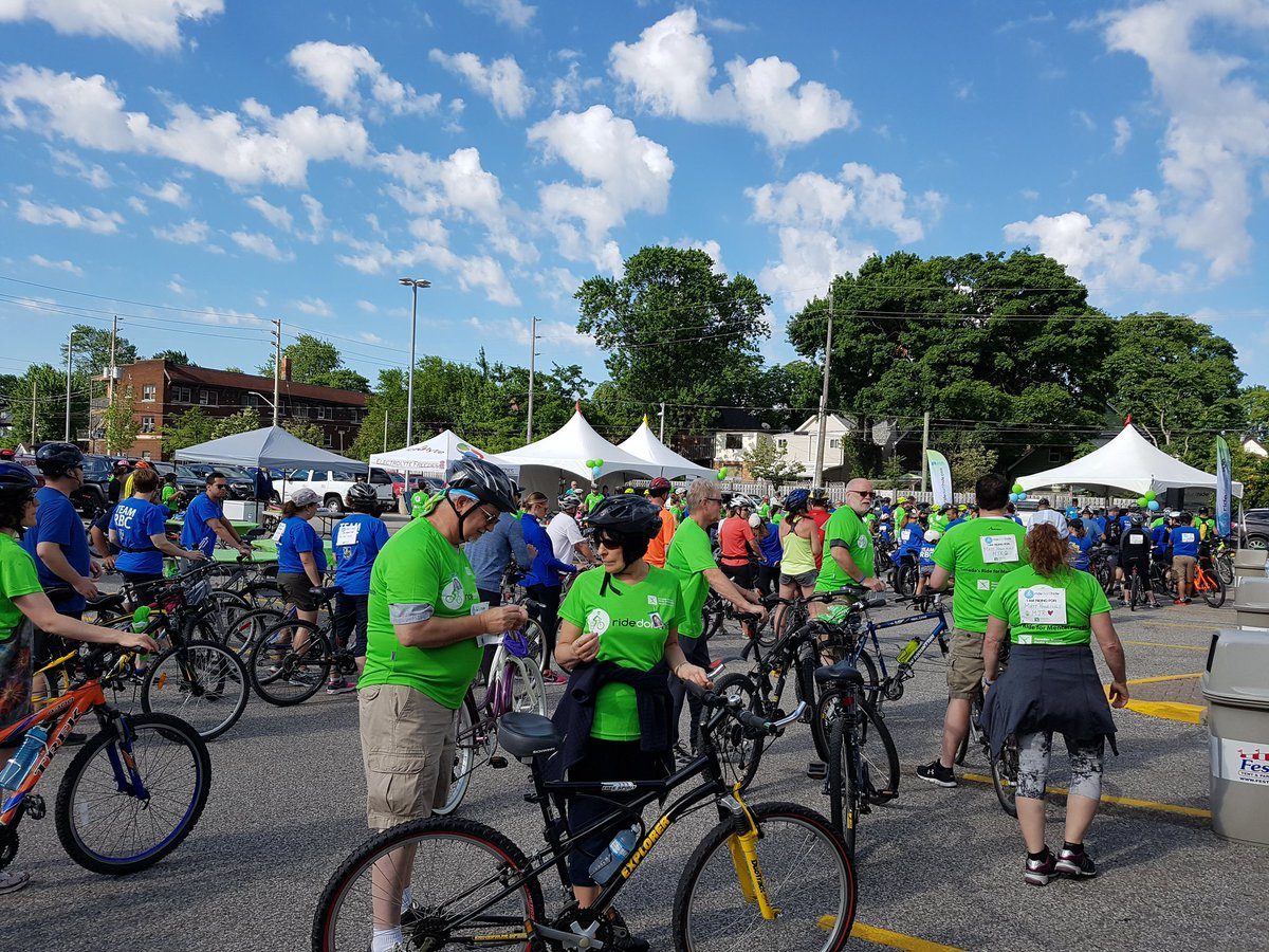 test Twitter Media - RT @HIbellmediaYQG: Riders heading out for @CMHAWECB #Ridedonthide https://t.co/D8f0pIUX8n