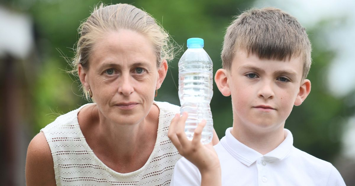 Boy, 9, banned from drinking water in class on hottest day of year because it was the wrong bottle
