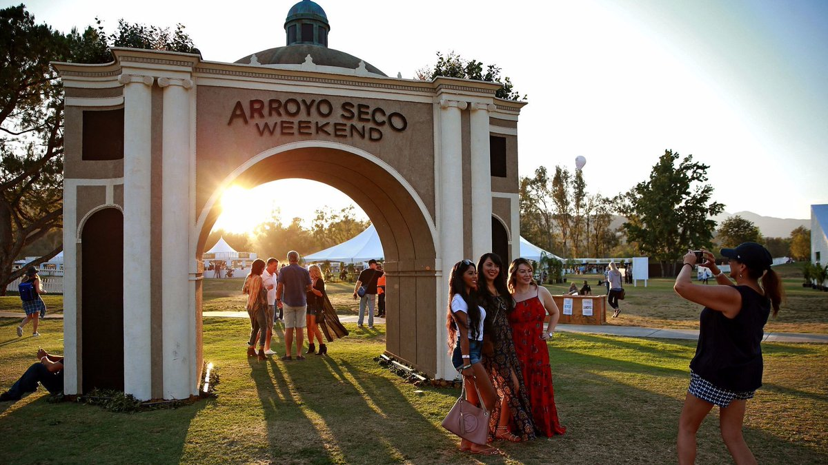 Away from the bands, it's the kids who make a racket at Pasadena's Arroyo Seco Weekend