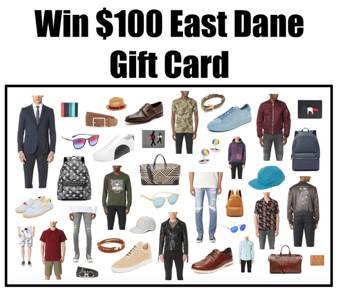 Win $100 Gift Card For East Dane From Nakturnal