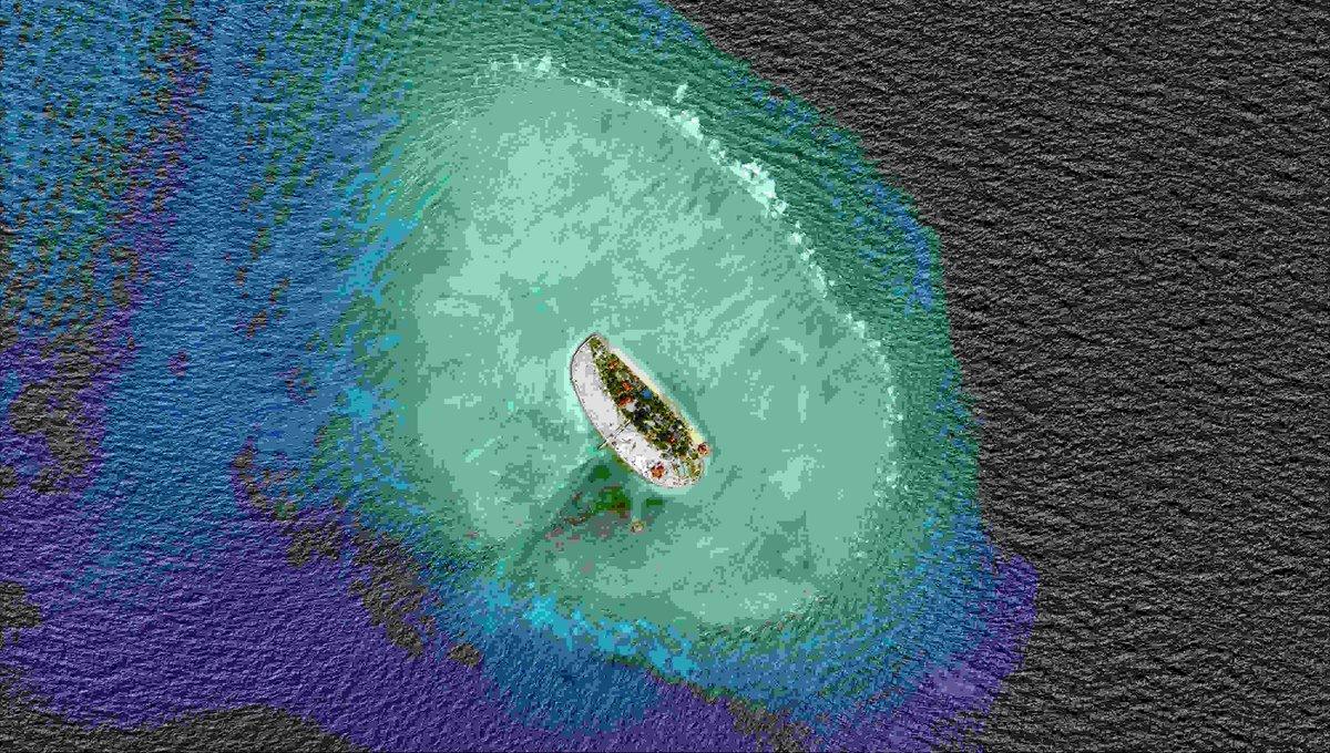 Philippine, Vietnam navies play sports on South China Sea island