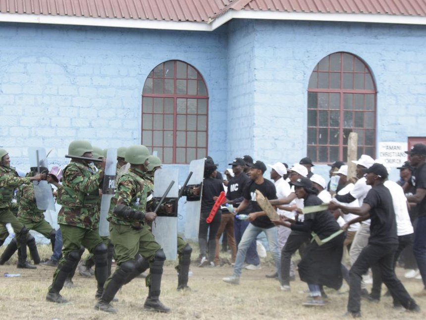 KDF will be non-partisan during August polls, Omamo, Nkaissery say