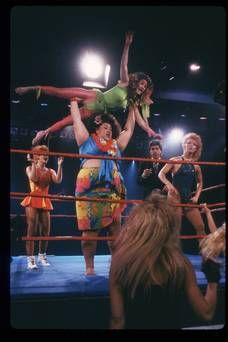 Netflix's new comedy series Glow is based on a real life 80s all-female wrestling show
