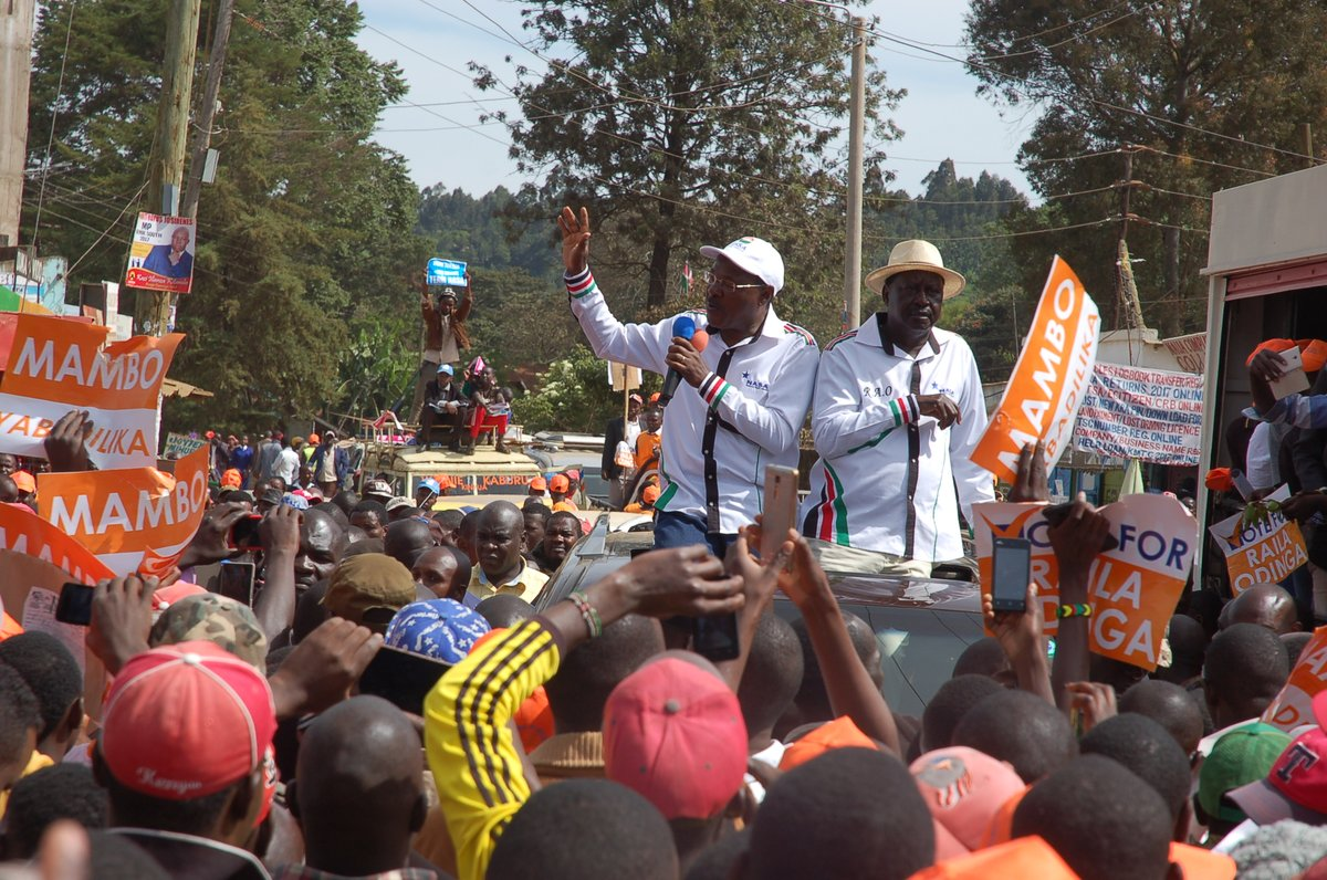 NASA, JP must stop fanning ethnic tension ahead of polls August poll