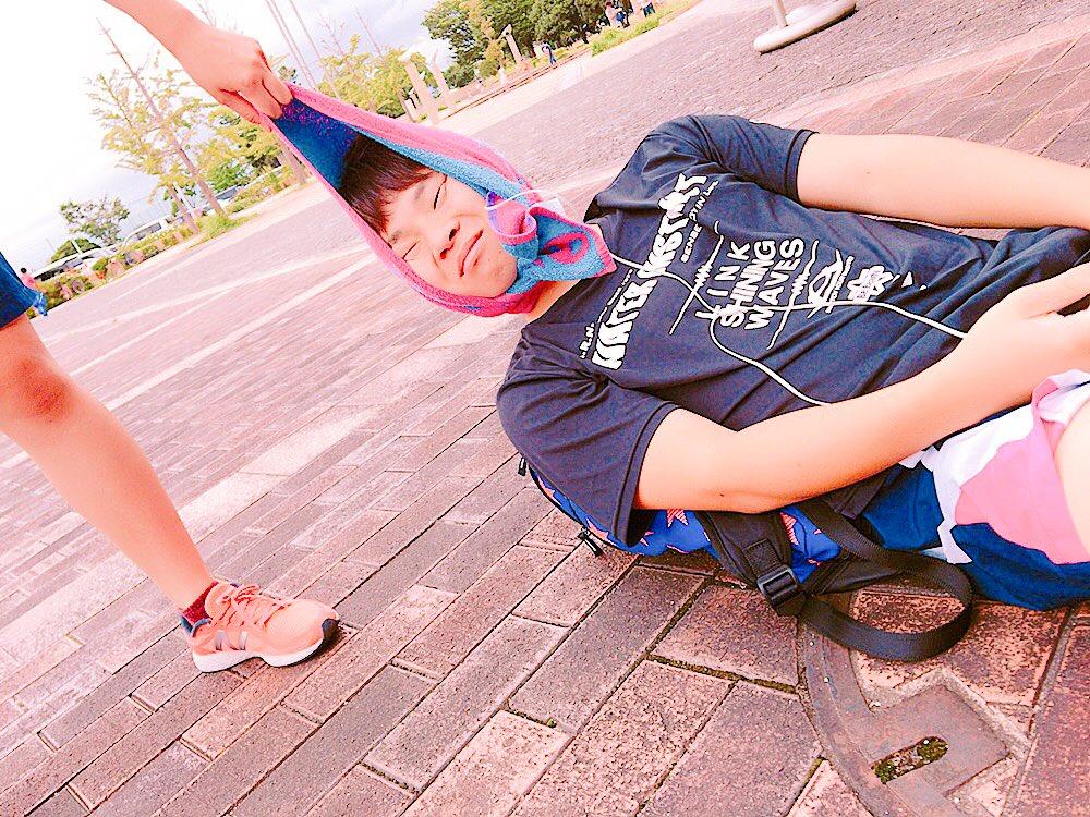 今日は国体予選を観に行きました٩(๑❛ᴗ❛๑)۶ 亜未と悠斗と仲間が頑張ってました。横田先生に会えなかったのが残念です…