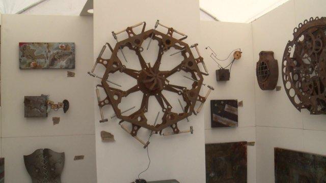 Florida Artist Brings Motion to Des Moines ArtFestival