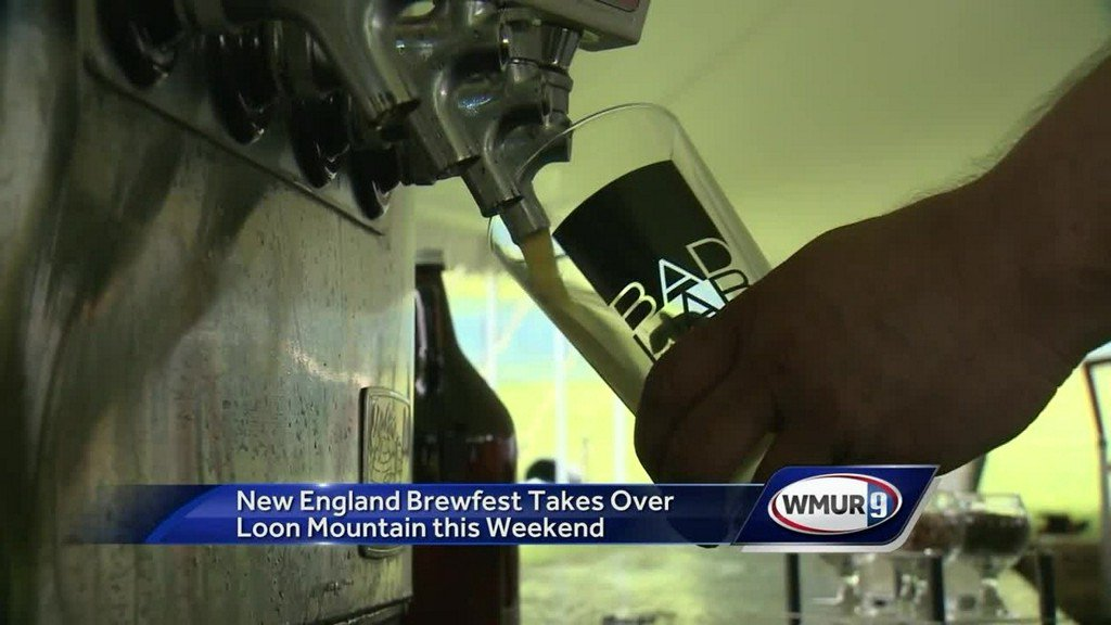 WATCH: New England Brewfest in Lincoln