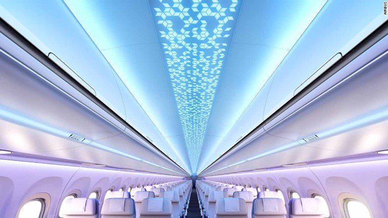 Airbus shows off a fancy new cabin design