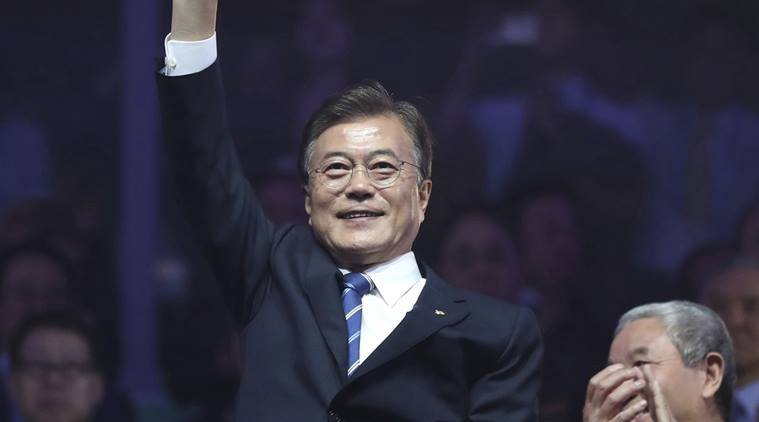 South Korean president Moon Jae-in calls for North Korean Olympic participation