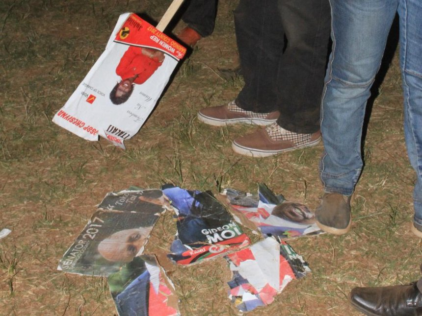 Jubilee, Kanu supporters clash during campaigns in Baringo