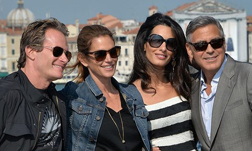 .@randegerber has spoken about meeting George Clooney's twins! Read more here: