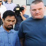 Manny Pacquiao prays at Brisbane church ahead of Jeff Horn bout