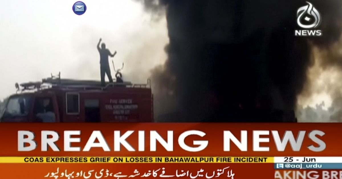 Overturned oil tanker explodes in Pakistan, killing 148