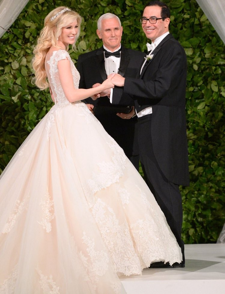Steven Mnuchin marries Louise  louise linton