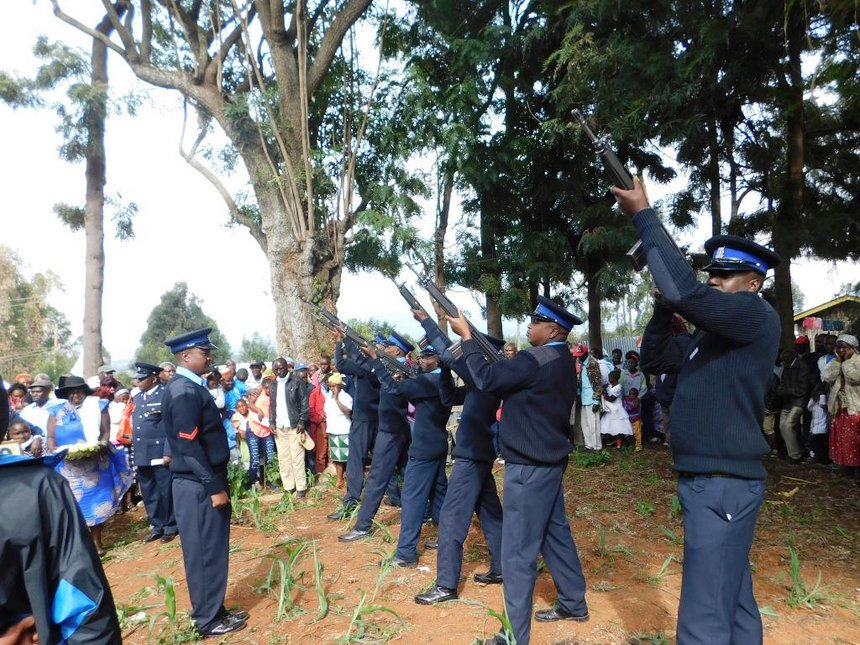 Cop's murder raises suspicion among officers in Ol Kalou police station