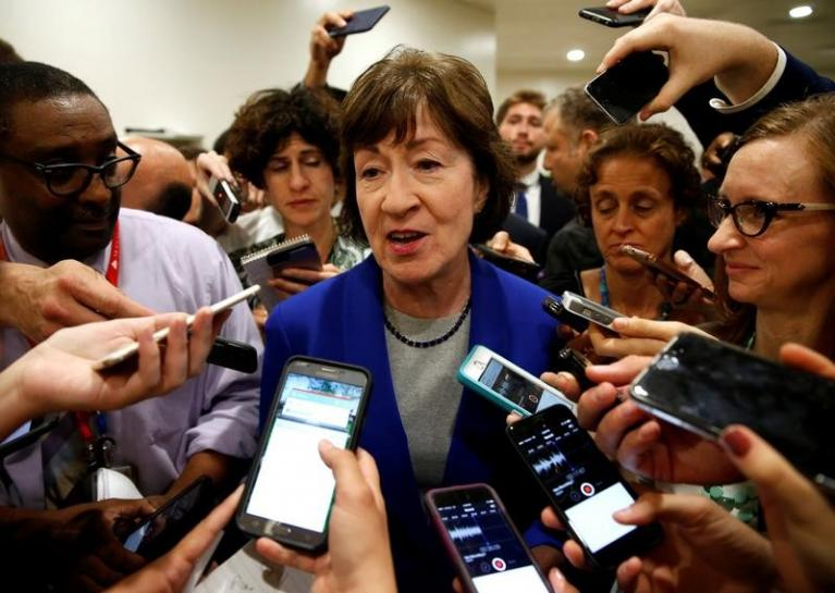 Key Republican Collins has 'serious concerns' on healthcare bill
