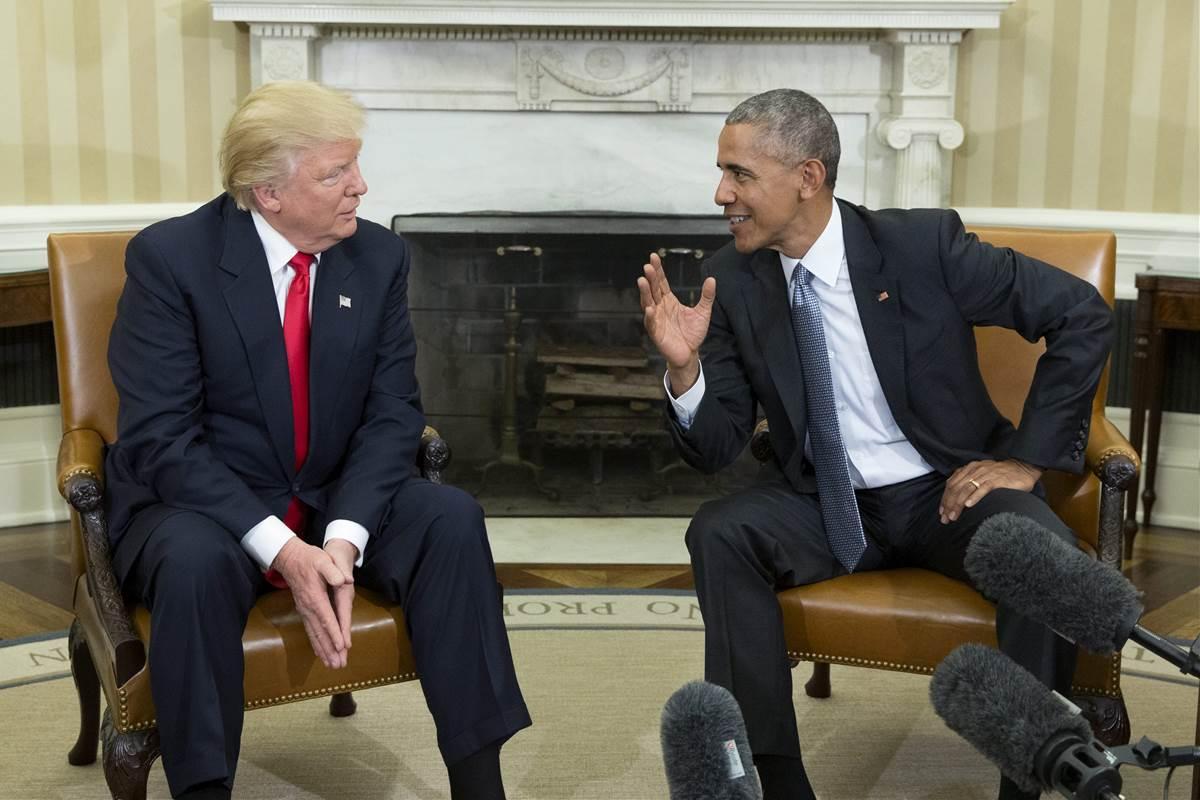 "President Trump acknowledges ""Russian meddling"" in tweet criticizing Obama"