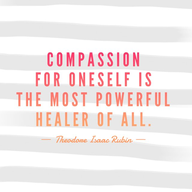 #Compassion for myself is the most powerful healer of all. --Theodore Isaac Rubin https://t.co/XNrkM1WMV1