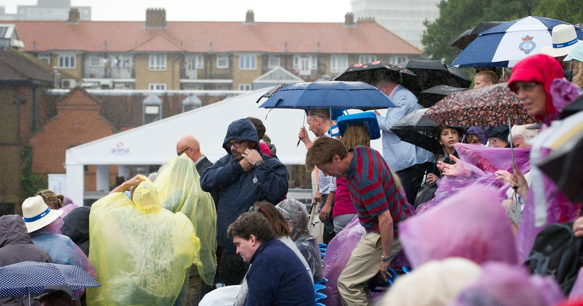 What a difference a week makes: Britain set to be blasted by flash floods and hail