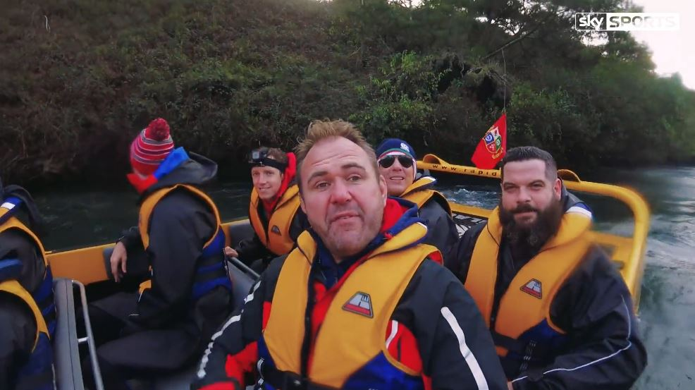 test Twitter Media - #FANVAN - Day 26. Scott is joined by @WillGreenwood for some jet boating on the Waikato rive with @rapidsjet: https://t.co/HBlODrmpfr https://t.co/scDHhIxgNP