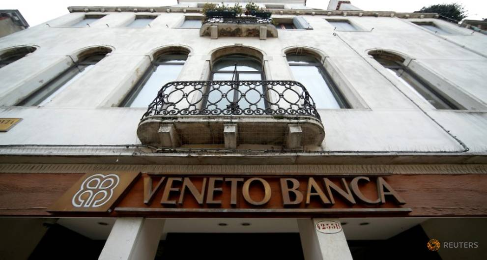 Italy could pay as much as 17 billion euros to wind down Veneto banks: minister