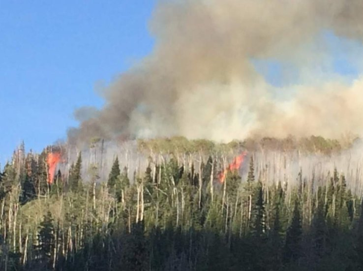 Brian Head Fire stalls slightly as weather shifts