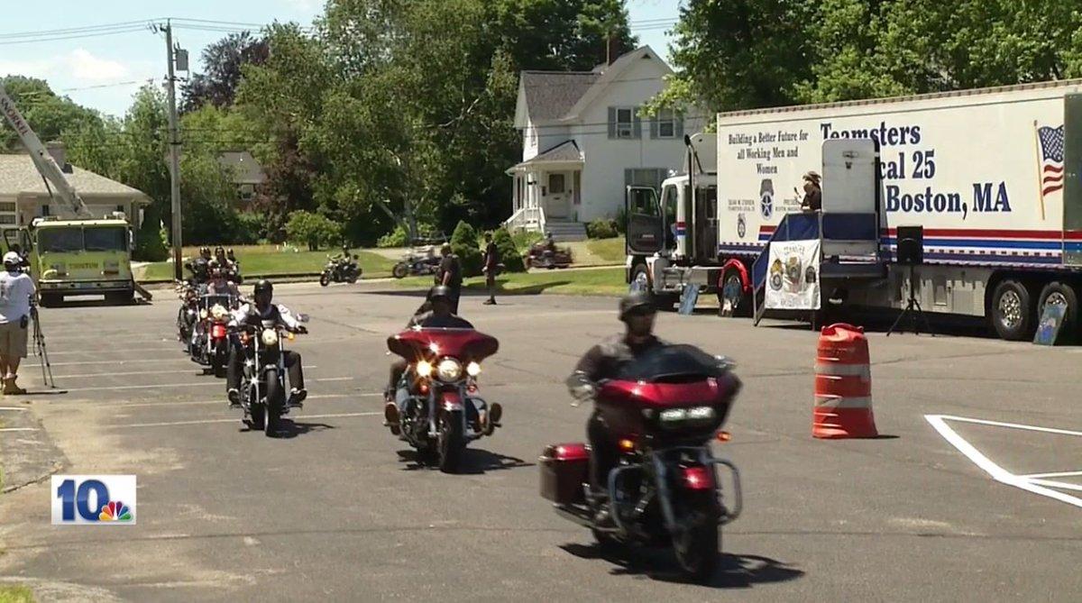 1st annual motorcycle run to remember slain New Bedford teacher