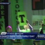 U. of Iowa Dance Marathon hosts Family Day at Adventureland