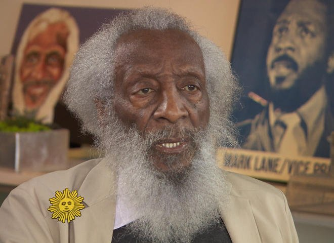 At 84, comedian Dick Gregory is still very serious about humor: