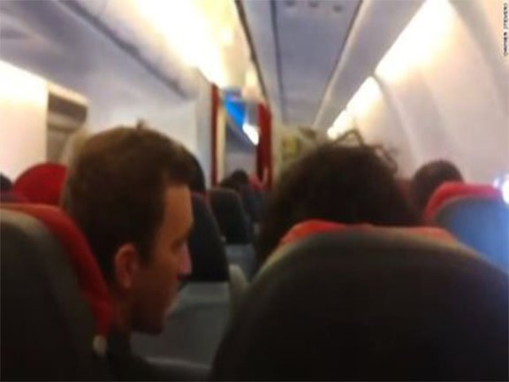 Watch: Pilot urges prayers as 'technical issue' forces flight to turn back