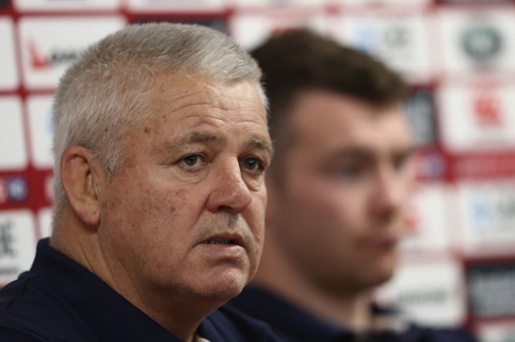"test Twitter Media - ""I guess he might be a bit desperate""  Steve Hansen on criticism from Warren Gatland.  More here 👉https://t.co/QDlJbuGvI1 https://t.co/MT0m0FBOc0"