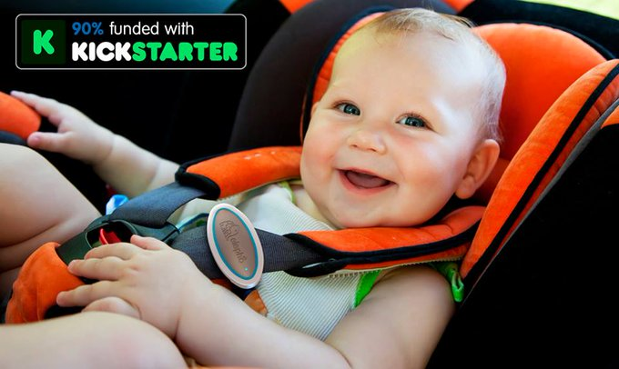eClip Is The Answer To Babies Being Left In Hot Cars & A Giveaway